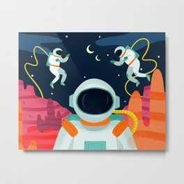 Mission To Mars Metal Print