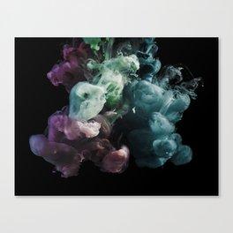 Colored Smoke One Canvas Print