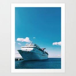 Carnival Fantasy Cruise Art Print