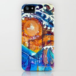 Aoukusai Wave iPhone Case