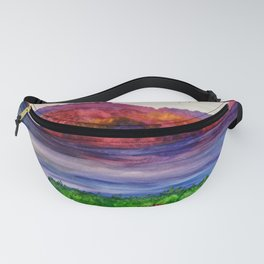 Colors by the water Fanny Pack