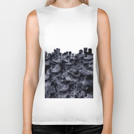 Anchorage Alaska Skyline Biker Tank
