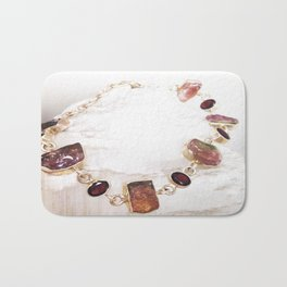 Watermelon Tourmaline Bath Mat