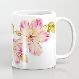 Azalea Watercolor Painting 2 Coffee Mug