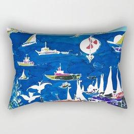 The Marina, Southport, AUSTRALIA        by Kay Lipton Rectangular Pillow