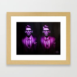 """""""Will You Walk into My Parlour? Framed Art Print"""