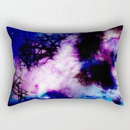 Blue Violet Rectangular Pillow