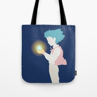 howl Tote Bags featuring Howl by Polvo