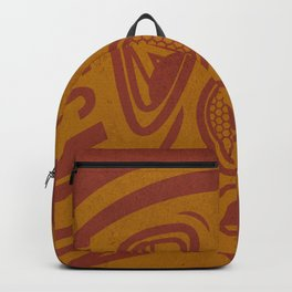 Legion Wakes Red and Brown Backpack