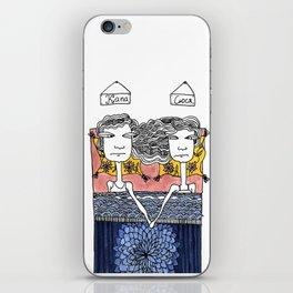 Sisters: Kapa&Susa iPhone Skin