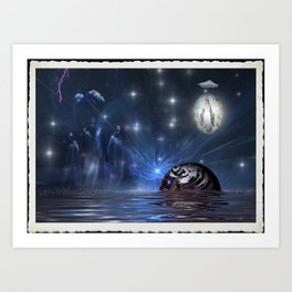 Of Goode and Evil Art Print