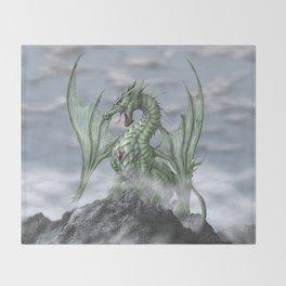 Misty Mountain Throw Blanket