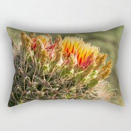 Barrel Cactus Bloom Rectangular Pillow