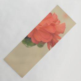 Zonal Pelargonium Flower Yoga Mat