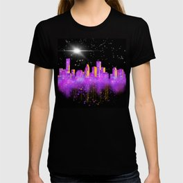Houston Skyline Fantasy T-shirt