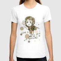 chibi T-shirts featuring Chibi Bilbo by KuroCyou
