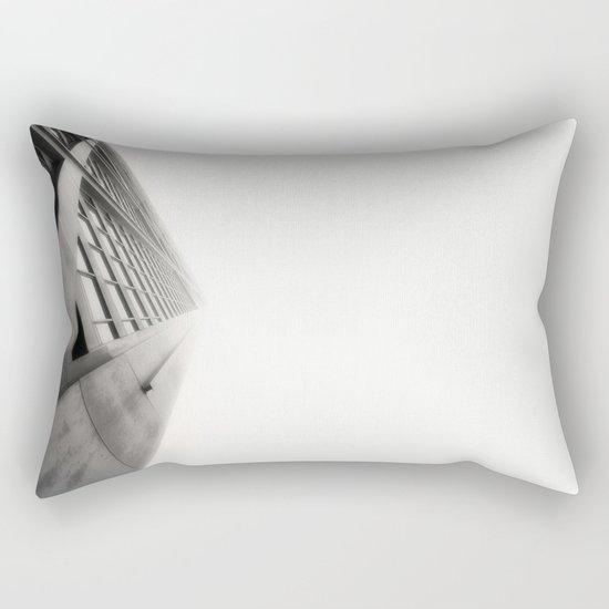 Building Fade Rectangular Pillow