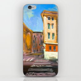 Verona Street Scene iPhone Skin