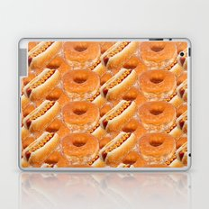 Hot Dogs and Donuts Laptop & iPad Skin