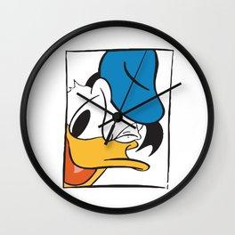Donald Duck No. 10 Wall Clock