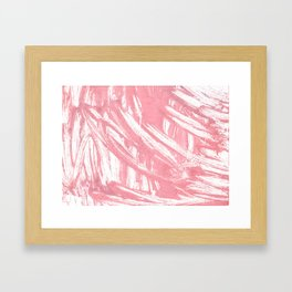 Mauvelous abstract watercolor Framed Art Print