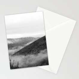Fog in the Sierra Nevada Foothills Stationery Cards