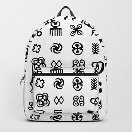 Adinkra Symbols Of West Africa Backpack