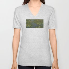 Claude Monet - Water Lily Pond 1919 Unisex V-Neck