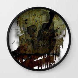 Skulldrip Wall Clock