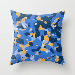Abstract organic pattern 19 Throw Pillow