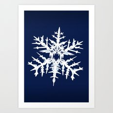 Evil Snow Art Print