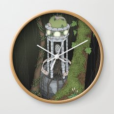 temple of the gatekeeper Wall Clock