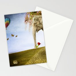 Good Things Don't Always Come in Small Packages Stationery Cards