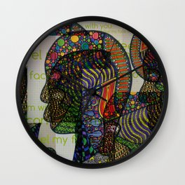 I Can't Feel My Face When I'm With You Wall Clock