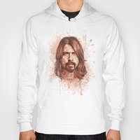 dave grohl Hoodies featuring Dave Grohl by Renato Cunha