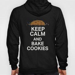 Top Fun Keep Calm and Bake Cookies Hoody
