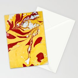 Currents Marble Painting Stationery Cards