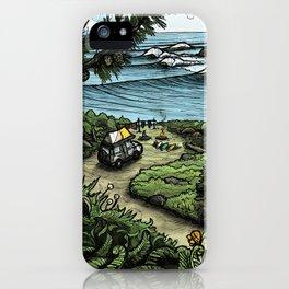 Oceanfront iPhone Case