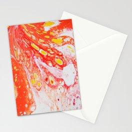 Orange Candy Coating Stationery Cards