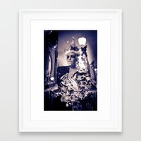 cupcake Framed Art Prints featuring Cupcake by Aaron Fritts