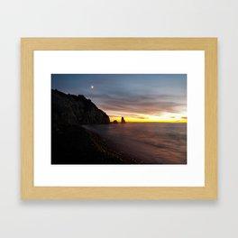 Cheticamp Sunset Framed Art Print