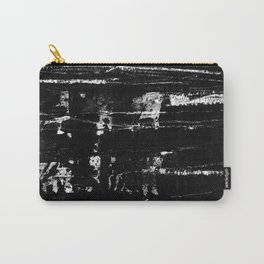 Distressed Grunge 102 in B&W Carry-All Pouch