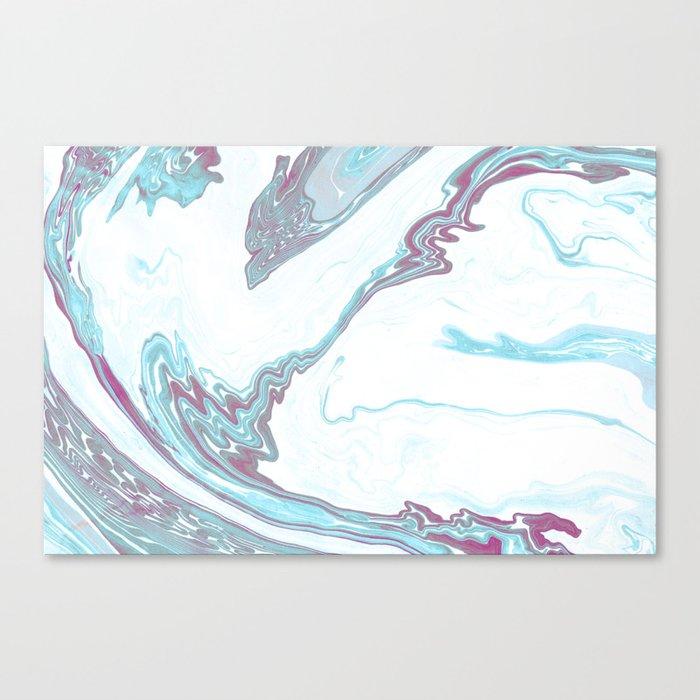 Marble Patten Canvas Print