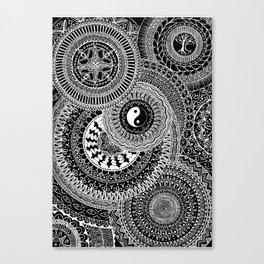 Mandala Mindfulness Canvas Print