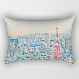 Tokyo tower Rectangular Pillow