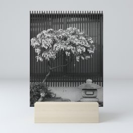 Japanese Tree and Stone Lantern Mini Art Print