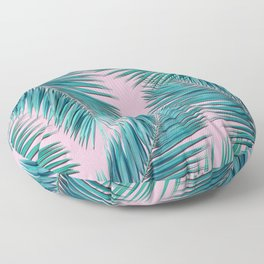 palm tree Floor Pillow