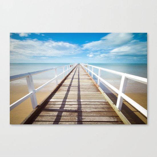 Pier sky 4 Canvas Print