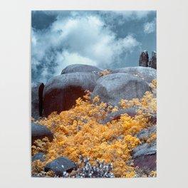 Cracked Big Rock Poster