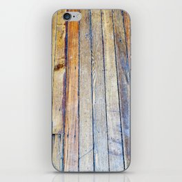 Floorboards iPhone Skin
